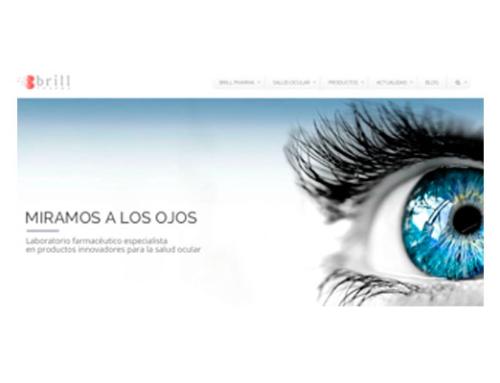 Brill Pharma lanza su nueva página web