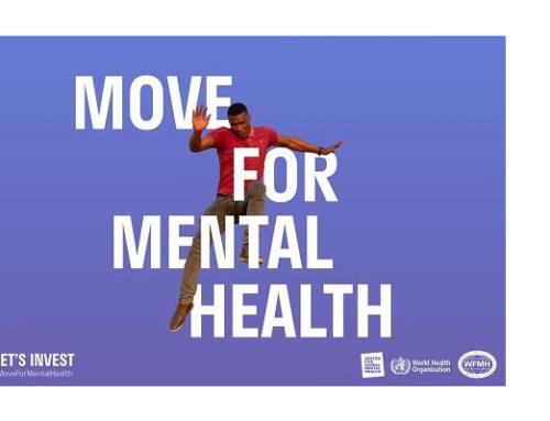 La OMS lanza una campaña en redes sociales para fomentar la inversión en salud mental